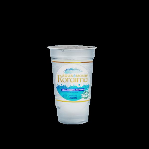 Água Monte Roraima 250ML Copo Biodegradável
